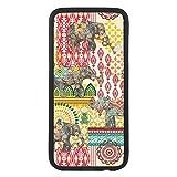 Funda carcasa para móvil diseño estampado de cachemir elefantes compatible con Samsung Galaxy S6...