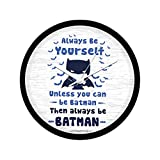 Mc Sid Razz Official DC Comics -Always Be Yourself Wall Clock Gift Set