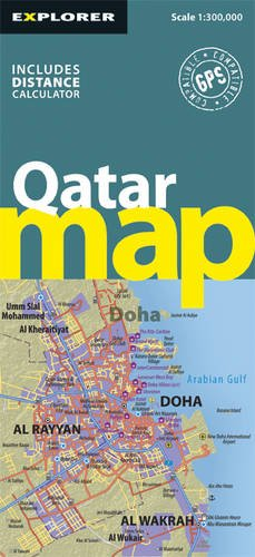 Qatar Country Map 1 : 300 000 (Country Maps) por Explorer Publishing and Distribution