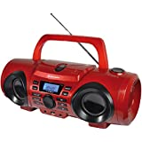 Roadstar CDR-265U/RD Radio portable Rouge