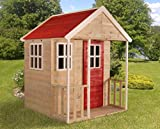 "Kinderhaus ""Nordic House"" Kinderspielhaus Gartenhaus aus Holz Spielhaus Holzhaus"