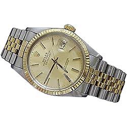 Jubilee bracelet date just Rolex men?s watch two tone