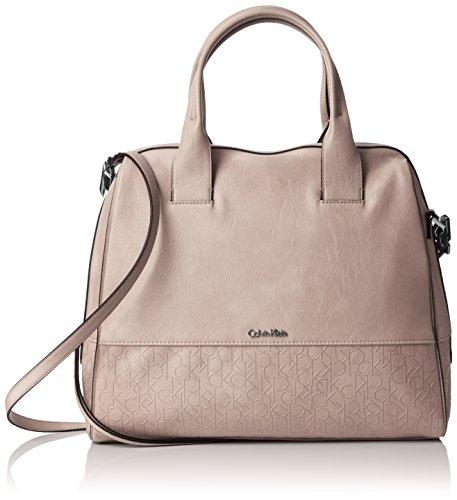 Calvin Klein Maddie Satchel, Borse Donna Beach