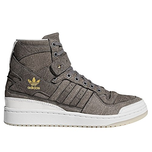 adidas Forum HI Crafted BW1253 Herren Sneaker grau/weiß, Größe:42, Farbe:Grau