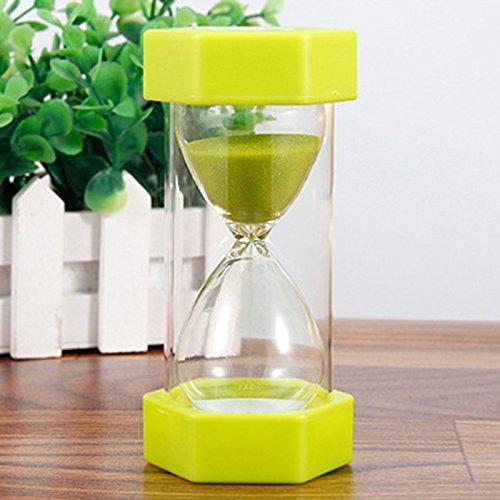 Diawp 5/10/15/20/30min Reloj de Arena para niños, diseño de Huevo