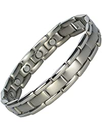 MPS® POLARIS Titanium Magnetic Bracelet, with Free Link Removal Tool