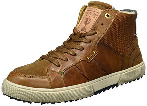 Pantofola dOro Teco Pelliccia Uomo Mid, Scarpe da Ginnastica Uomo Braun (.Jcu)