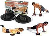 #10: ShopAIS Push Up Pro (Rotating Push Up Grips)- For Body Workout/Exercise