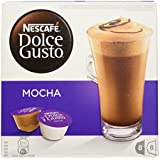 Nescafé Dolce Gusto Mocha, 16 Capsules - Pack of 3 (48 Capsules, 24 Servings)