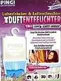 Pingi Luftentfeuchter mit Lavendel Duft 3er Set 3 x 250 Gramm