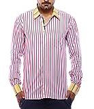 Moksh Pink Blue Red Cotton Shirt V2IMS04...