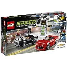 LEGO Speed Champions - Coche Chevrolet Camaro Drag Race (75874)