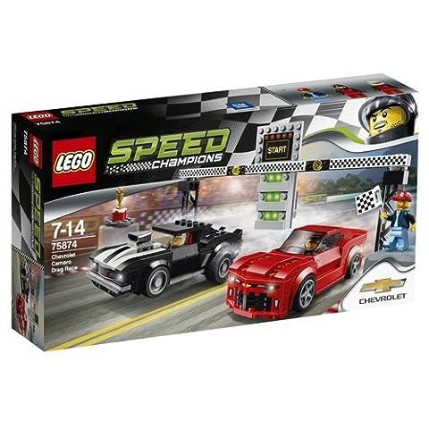 LEGO 75874 Speed Champions Chevrolet Camaro Drag Race Set