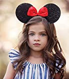 #10: Majik Head Band for Girls and Women Red- Black, 15 Grams, Pack of 1