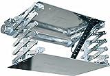X-Lift KOMPAKT Beamer Deckenlift, Projektor Lift mit 60cm Hub inkl. Funksteuerung & inkl. Fernbedienung