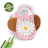 Baby Schuhe, Morbuy Sommer Fashion Blumen Sandalen Mädchen Neugeborene 0-18 Monate Anti-Rutsch Weiche Alleinige Kleinkind Schuhe Krabbelschuhe Wanderer Weiche Alleinige Schuhe (11cm / 0-6 Monat, Rosa)
