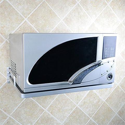 Micro-ondes étagère, montage mural consoles, perçage Installation L57cm * w41cm