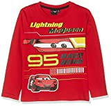 Disney Cars 1694 T-Shirt, Rosso Rouge, 6 Anni Bambino