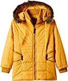 Fort Collins Girls' Regular Fit Jacket (10213_Mustard_26 (6 - 7 years))