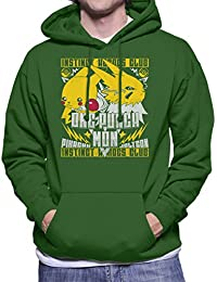 One Punch Mon Pokemon Pikachu Vs Jolteon Men's Hooded Sweatshirt