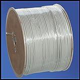 500 Meter Trommel Installationskabel NYM-J 3x2,5 mm² - Kunststoff Installationsleitung - 500m TROMMEL -PVC - grau