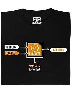 Problema-Ingeniero-Solucion - camisa hecha de algodón orgánico 100%.
