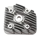 Xfight Parts Cylinder Head Nut for O-Ring Use A Spark Plug with Short Threaded 40 mm (NGK Type H means Short Thread) 2-Stroke 1E40QMB Cylinder Kit 50 cc for Minarelli Engine AC Lying Down 78413523