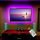 """Stromversorgung über USB LED TV Hintergrundbeleuchtung für 55"""" TV / Flachbildschirm / Wandhalterung Kino Dekoration LED-Streifen-Beleuchtung"""