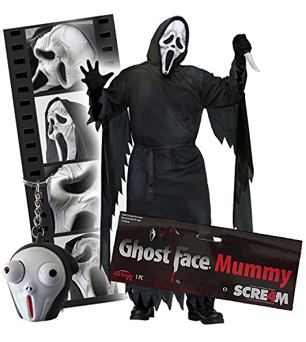 Scream Ghostface Luxuskostüm 2017 Scream Mumie all inclusive Set inklusive original Falten ()