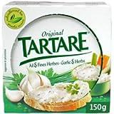 TARTARE - Formaggi Francesi - Original Aglio & Erbe Spread Formaggio 150G