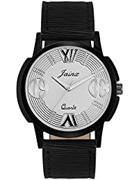Jainx Silver Dial Analog Watch For Men & Boys - JM259