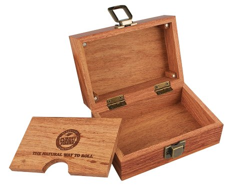 Raw ® Wood Rolling Box - 3.4 x 5 Inches by RAW