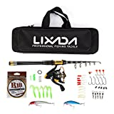 Best Fishing Rods And Reels - Lixada Telescopic Fishing Rod and Reel Combo Full Review