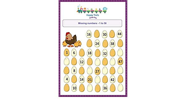 Happy Trails Maths Worksheets for Jr kg - All in One Set of ...