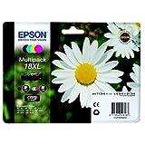 Epson original - Epson Expression Home XP-322 (18XL/C13T18164022) - Tintenpatrone MultiPack (schwarz, cyan, magenta, gelb)