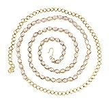 #2: I Jewels Traditional Gold Plated Kundan Kamarband for Women (B019)
