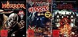 20 Horrorfilme HALLOWEEN Box Collection incl. HORROR MASKE - 30 Stunden Werwölfe ZOMBIES Dämonen VAMPIRE Hexen DVD Collection