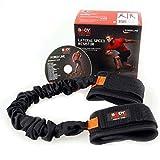 bodysculpture Starke Dehnung Ankle Gürtel, Ankle Band für härtere Training, Sportler, Muscle Mania, heben, Power Yoga