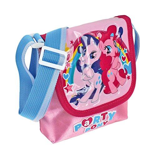 My little Pony Täschchen mit Einstecklasche, blau (Tasche Little Pony Einer My In)