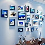 Acceiov ZXCV Klassische Fotorahmen Massivholz Collage Kombination Wohnzimmer Schlafzimmer Bilderrahmen Wand Kreative Kom