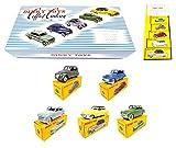 OPO 10 - Atlas Dinky Toys - Coffret de 5 Voitures de Tourisme 24/55 Peugeot Simca Citroen Ford 24/55 1:43 (MB102)