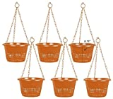 #9: Orchid Hanging Pot/Orchid Pots - A Set of 6 Pots