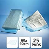 Disposable Bed Pads 60cm x 90cm - Pack of 25 Healthcare