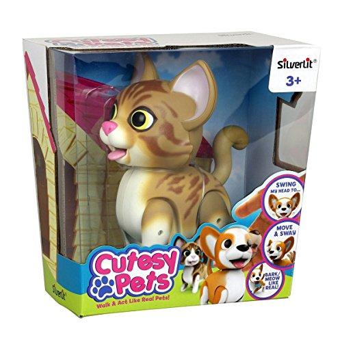 Silverlit Cutesy pour Animal Domestique-Chat tigré