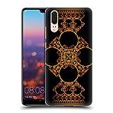 Head Case Designs Offizielle Sven Fauth Kreuz Gold Maori Ruckseite Hülle für Huawei P20
