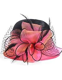 Amazon.es  Rosa - Gorro de pescador   Sombreros y gorras  Ropa 20f42294b8e