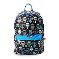 Nuby Trendz Kids Backpack, Robots, 10.0 Litre - Parent