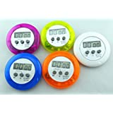 Domire Mini Round Digital Electronic Magnetic Kitchen Timer