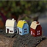 Bluelover Fai Da Te in Miniatura Country House Ornamenti in Vaso Pianta Garden Decor