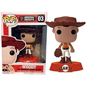 Funko Pop Woody San Francisco Giants beisbol (Toy Story – Disney 03) Funko Pop Disney